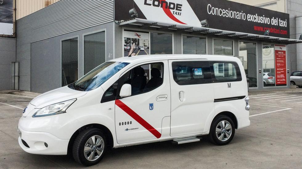 Taxi eléctrico de Nissan