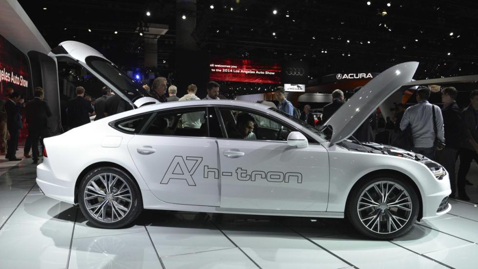 Audi A7 h-tron quattro lateral