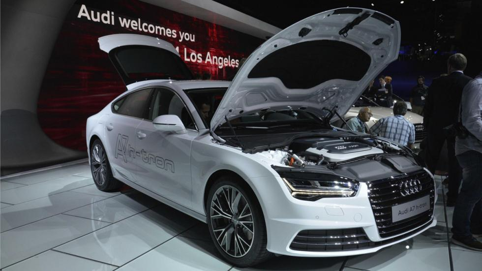 Audi A7 h-tron quattro tres cuartos delantera