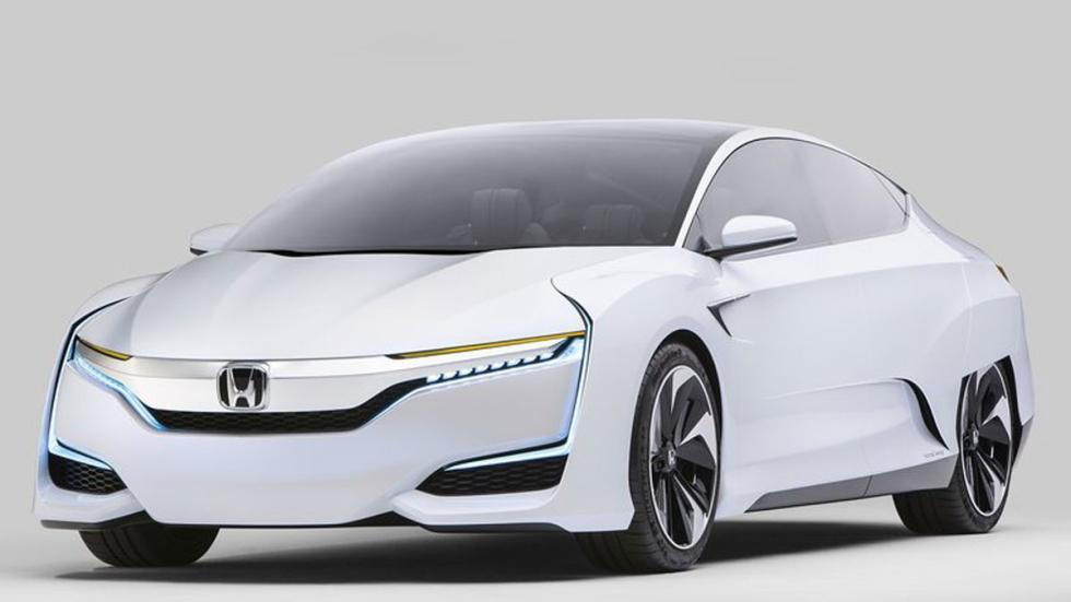 Honda FCV Concept tres cuartos delantero