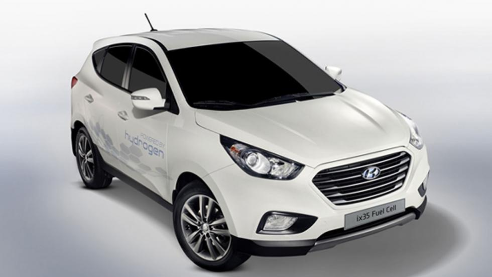 Hyundai ix35 Fuel Cell tres cuartos delantero