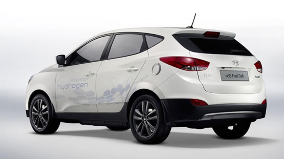 Hyundai ix35 Fuel Cell tres cuartos trasero