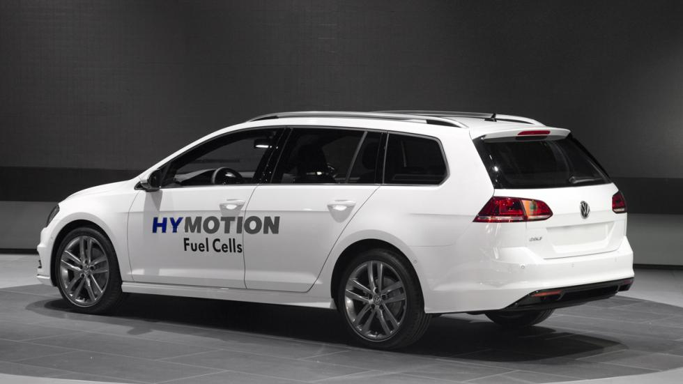 Volkswagen Golf Sportwagen HyMotion tres cuartos trasero