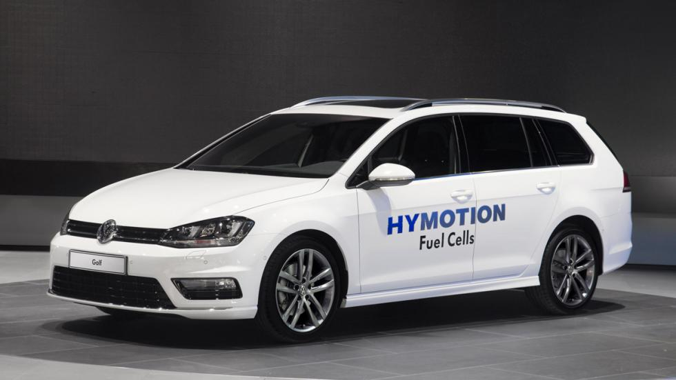 Volkswagen Golf Sportwagen HyMotion tres cuartos delantero
