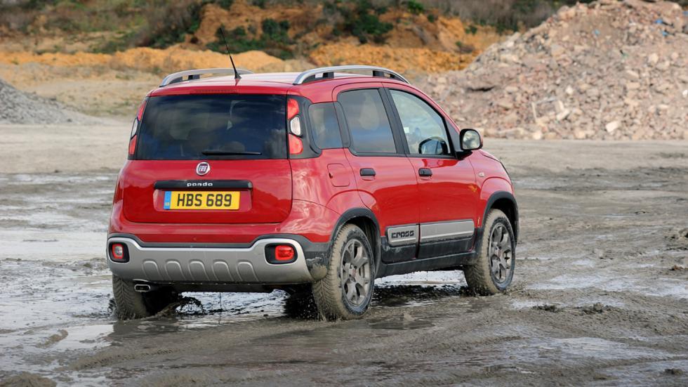coches para campo capacidades sorprendentes Fiat Panda Cross zaga