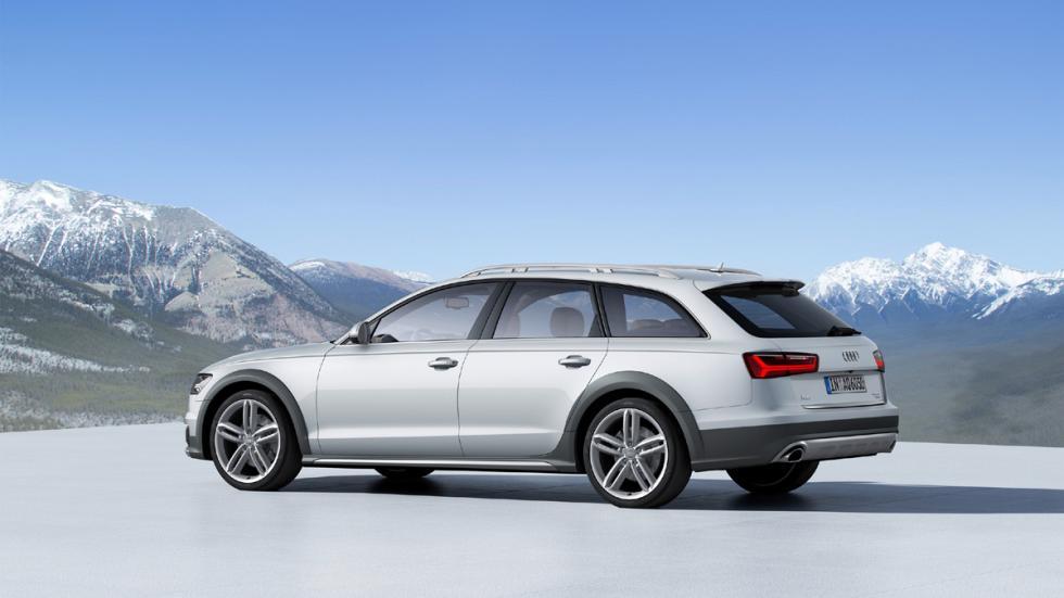 coches para campo capacidades sorprendentes Audi A6 Allroad zaga