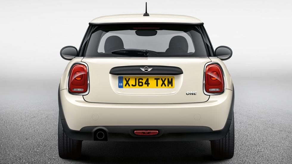 Mini One First 5 Door trasera