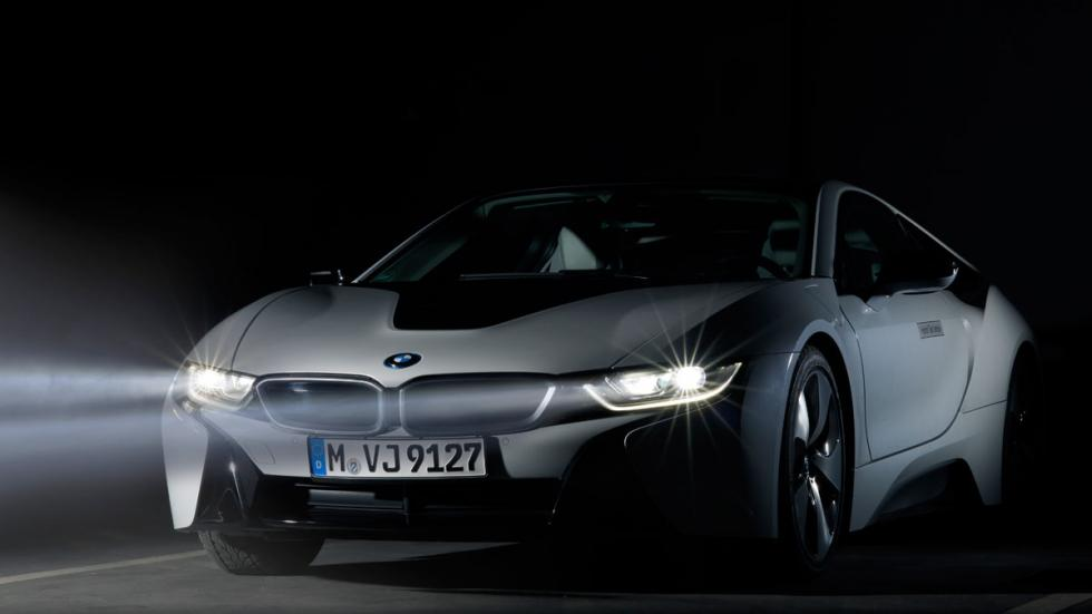 BMW i8 con Laserlight