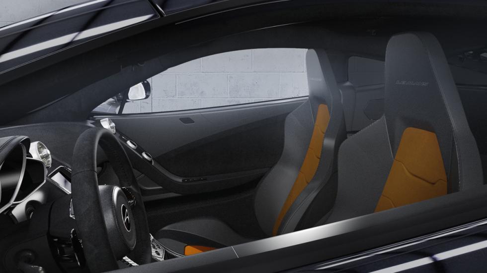 McLaren 650S Le Mans asientos