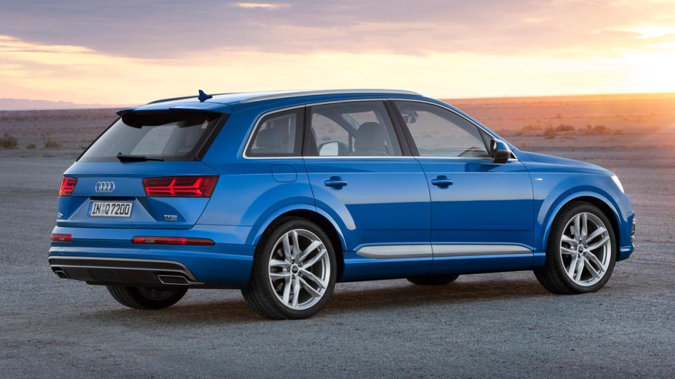 Audi Q7 tres cuartos trasero