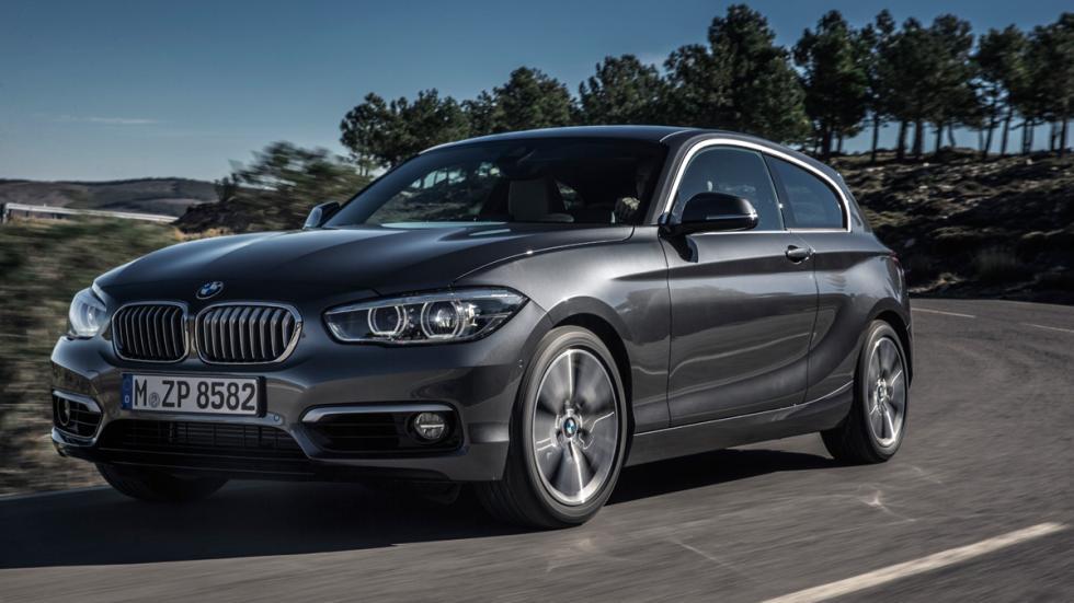 BMW Serie 1 2015 tres cuartos delantero
