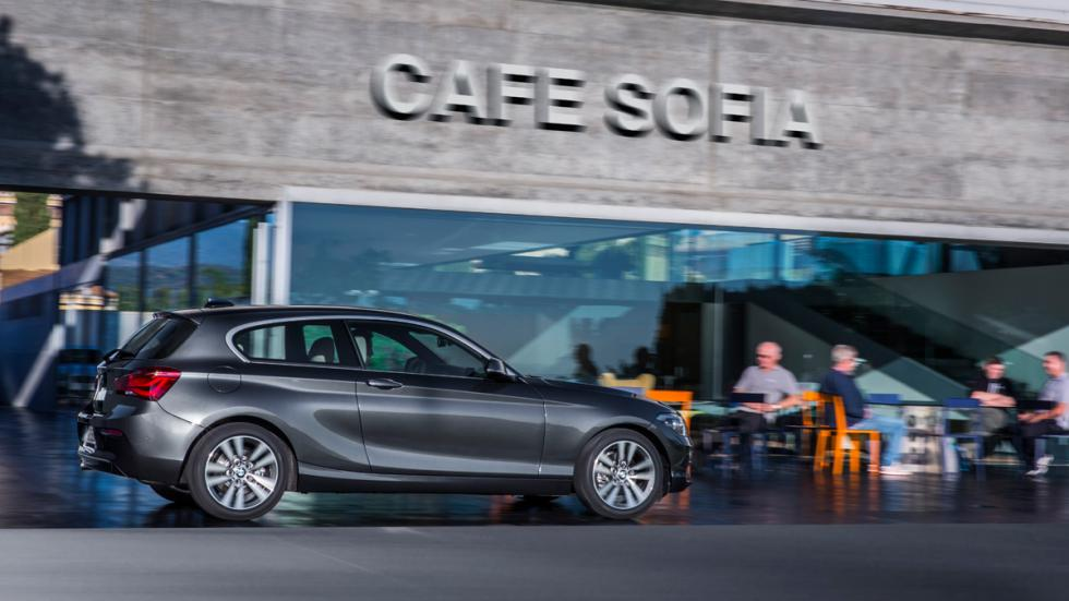 BMW Serie 1 2015 lateral