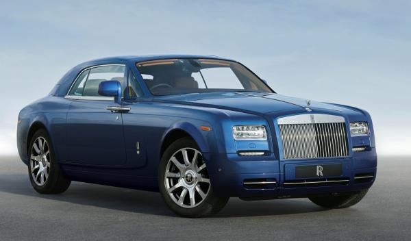 Rolls-Royce Phantom Series II tres cuartos delantero