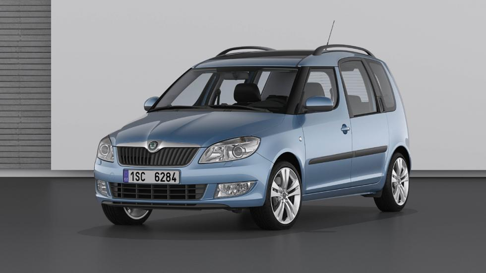 coches baratos y fiables Skoda Roomster