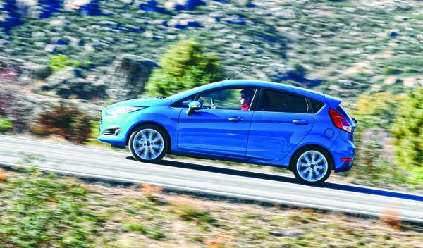Ford Fiesta lateral