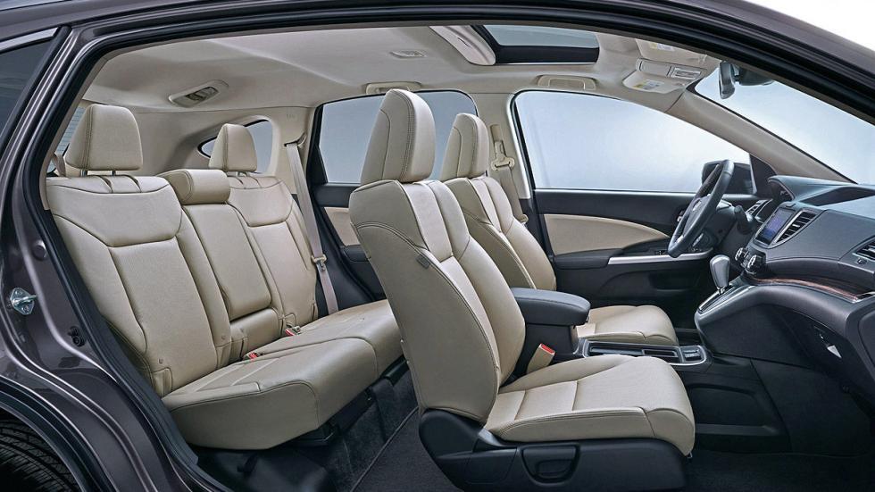 Honda CR-V detalle asientos