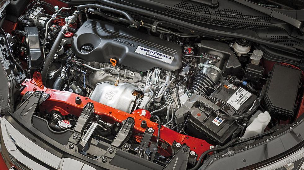 Honda CR-V detalle motor