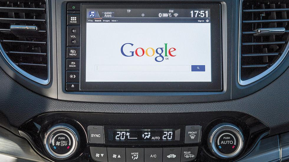 Honda CR-V detalle pantalla