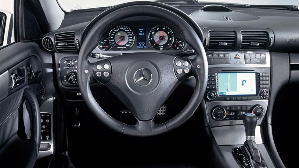 Mercedes C 55 AMG - Interior
