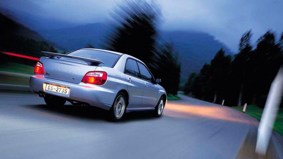 Subaru Impreza WRX - Trasera