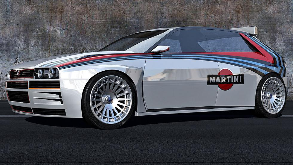 Lancia Delta HF Integrale virtual