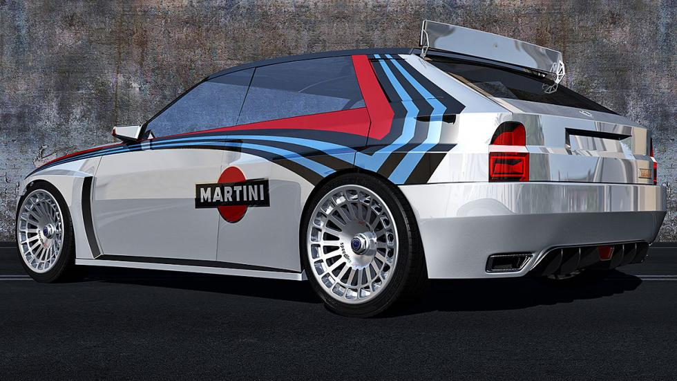 Lancia Delta HF Integrale virtual zaga