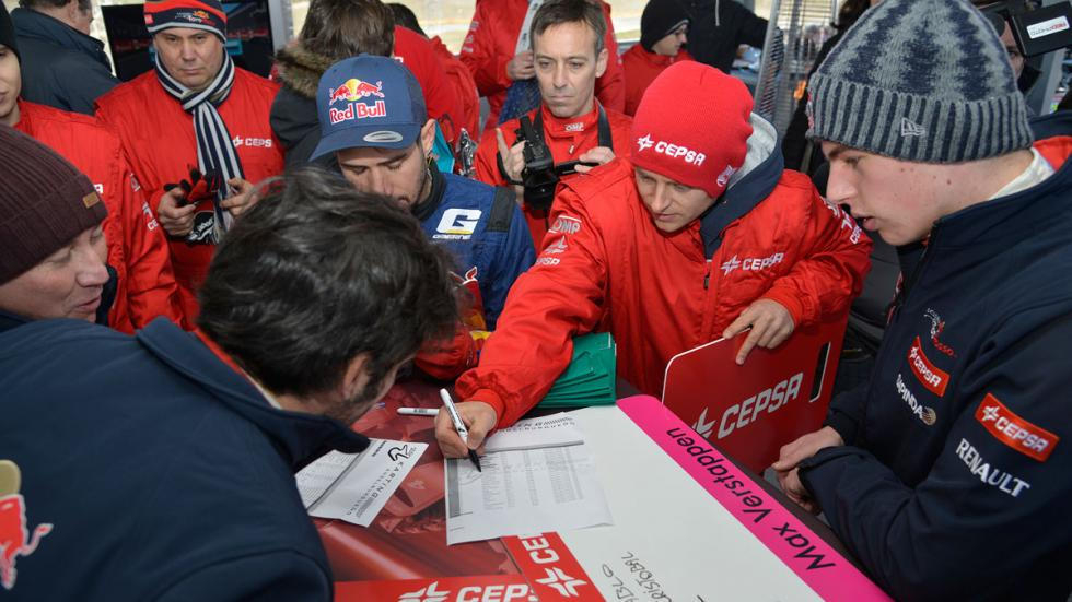 equipo de Max Verstappen en el III GP Karting cepsa