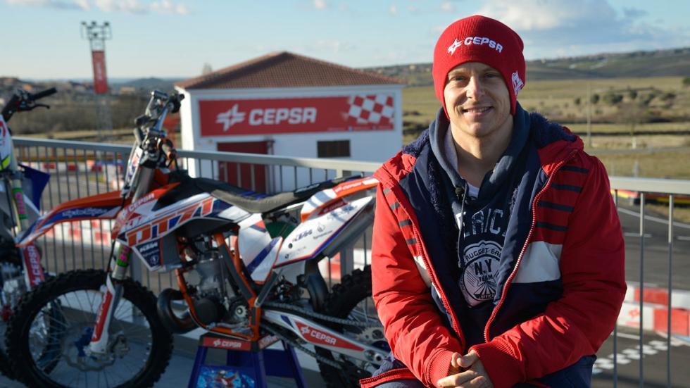 Maikel Melero, piloto de Cepsa 2015