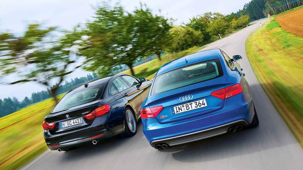 Audi S5 Sportback vs. BMW 435i Gran Coupé zagas