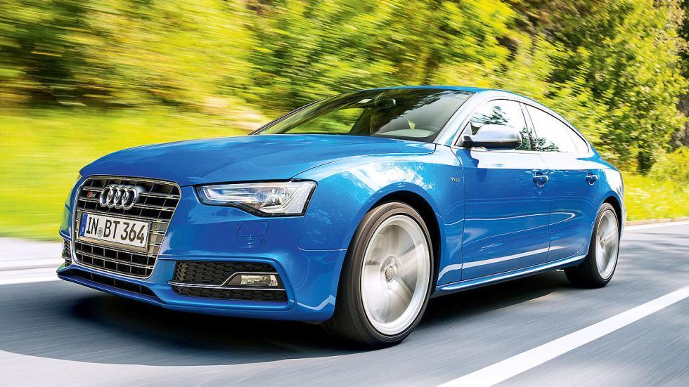 Audi S5 Sportback vs. BMW 435i Gran Coupé, Audi dinámica
