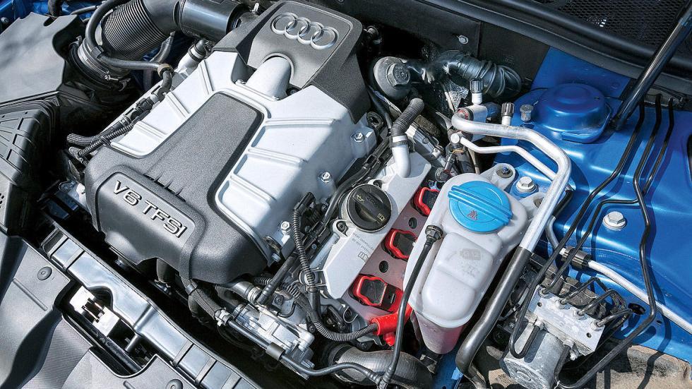 Audi S5 Sportback vs. BMW 435i Gran Coupé, Audi motor