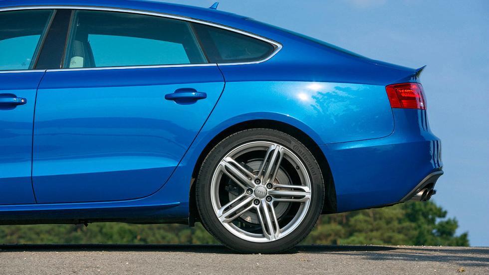 Audi S5 Sportback vs. BMW 435i Gran Coupé, Audi zaga