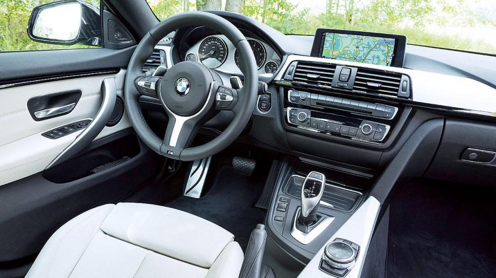 Audi S5 Sportback vs. BMW 435i Gran Coupé, BMW interior