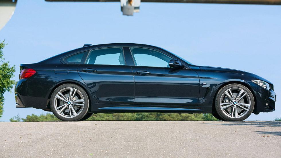 Audi S5 Sportback vs. BMW 435i Gran Coupé, BMW lateral