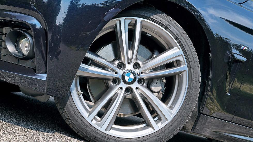 Audi S5 Sportback vs. BMW 435i Gran Coupé, BMW llanta