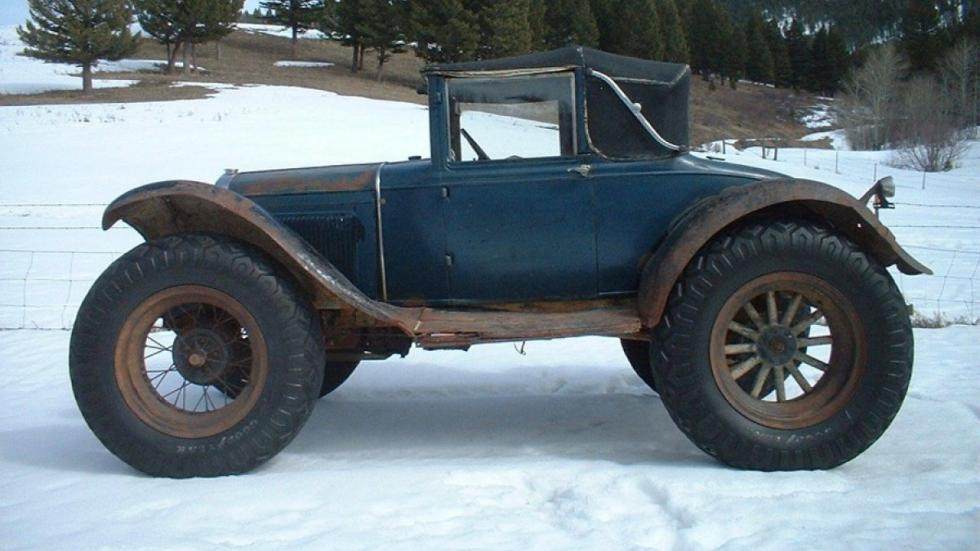 Ford Model A 'Bigfoot' lateral nieve