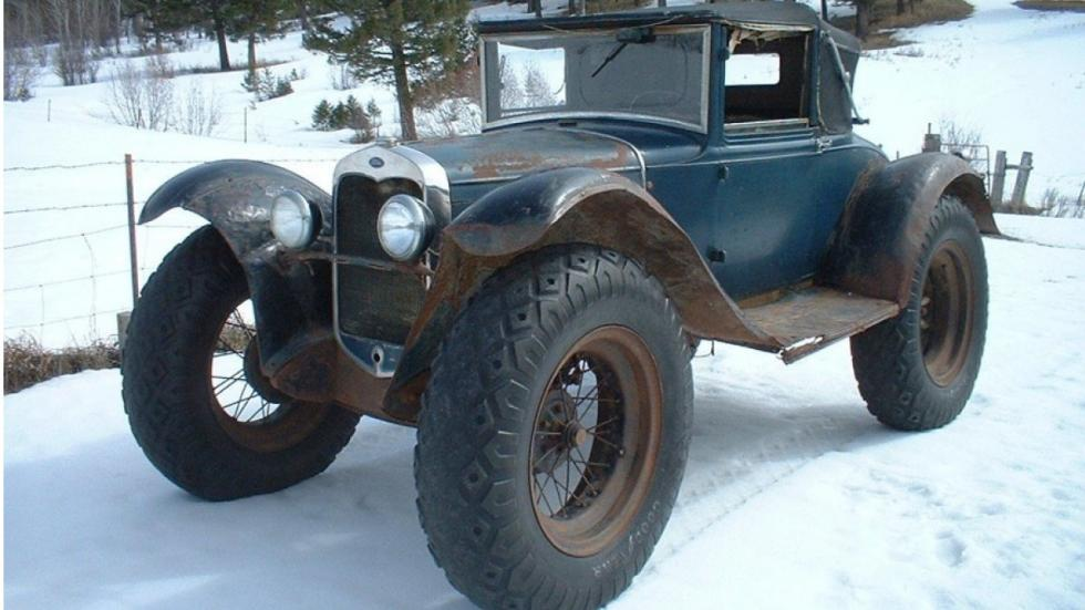 Ford Model A 'Bigfoot' frontal nieve