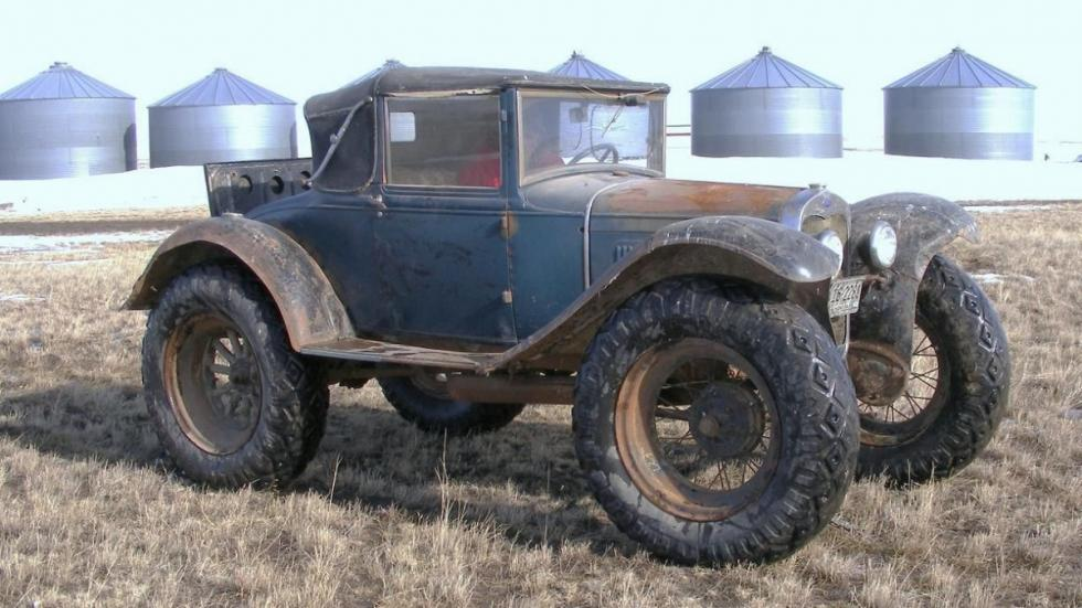 Ford Model A 'Bigfoot' con capota
