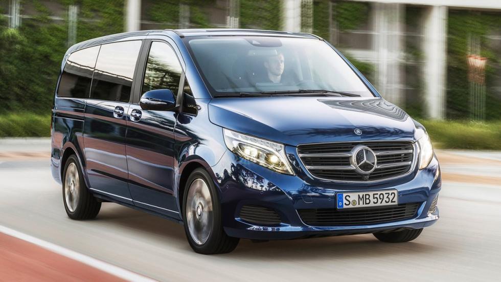 coches para gordos Mercedes Clase V