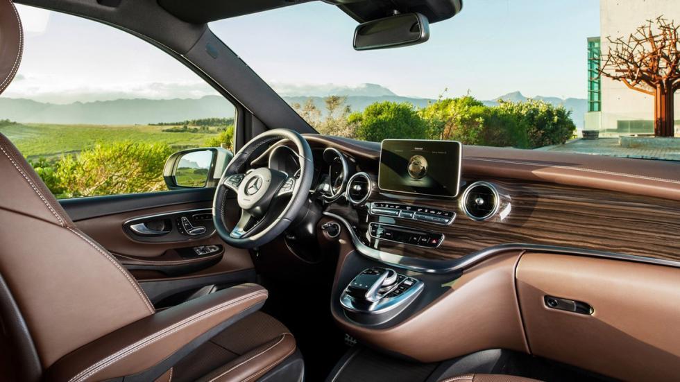 coches para gordos Mercedes Clase V zaga