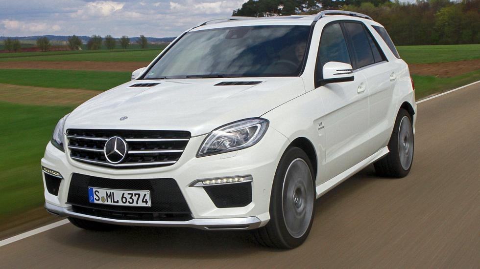 Mercedes ML 63 AMG 4Matic AMG SPEEDSHIFT 7G-TRONIC