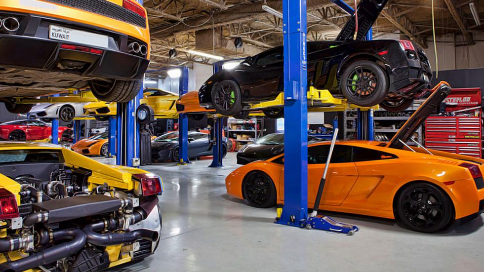 Lamborghini Gallardo de Dallas Performance taller