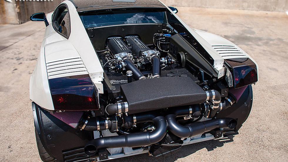 Lamborghini Gallardo de Dallas Performance zaga detalle