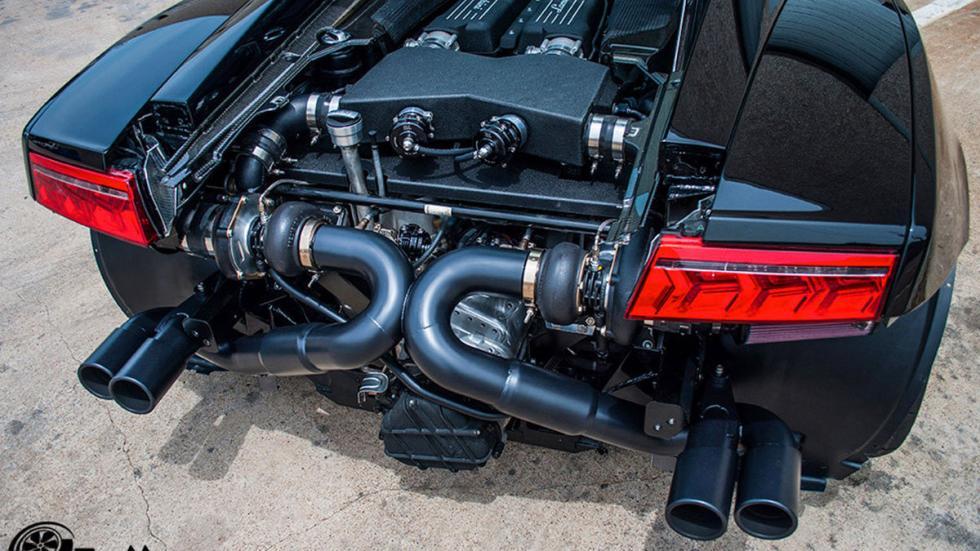 Lamborghini Gallardo de Dallas Performance zaga detalle cerca