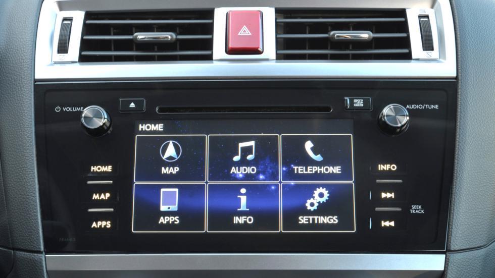 Subaru Outback 2015 entretenimiento