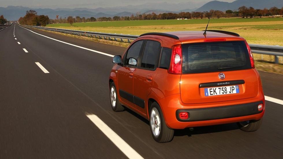 coches para estudiantes FIAT Panda zaga