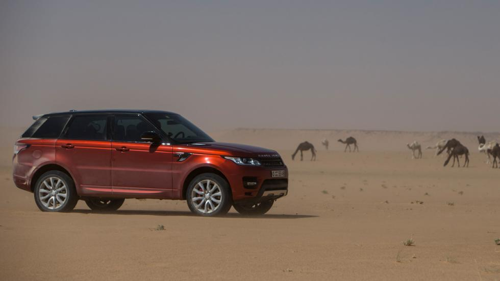 Range Rover Sport lateral