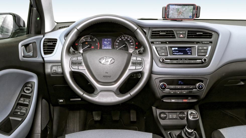 Prueba del hyundai i20 - Hyundai i20 interior ...