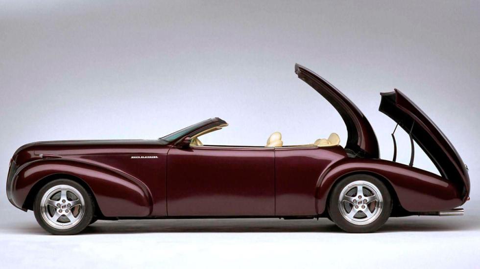 Buick Blackhawk Concept - apertura de techo