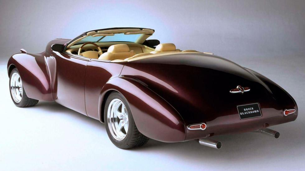 Buick Blackhawk Concept - trasera